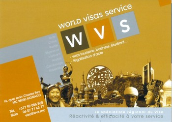 World Visas Service - Monaco (Pty)